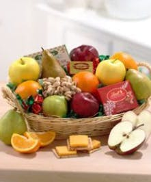 Fruit & Gourmet Gift Basket Delivery Bridgeport (CT) City Line Florist
