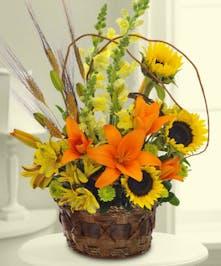 Garden Blooms Autumn Bouquet