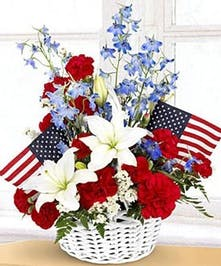 Independence Day Basket