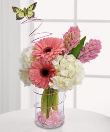 "Say ""thanks!"" in style with this pretty pink bouquet"