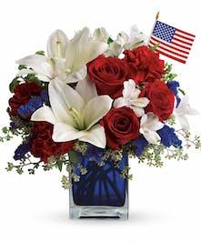 Passionately patriotic