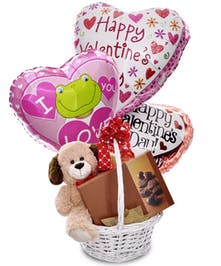 Cuddles & Chocolates Basket