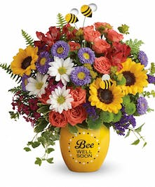 Brighten their day with this garden of wellness bouquet!