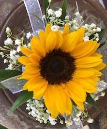 Sunflower Wristlet