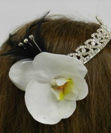 Orchid Sparkle Tiara