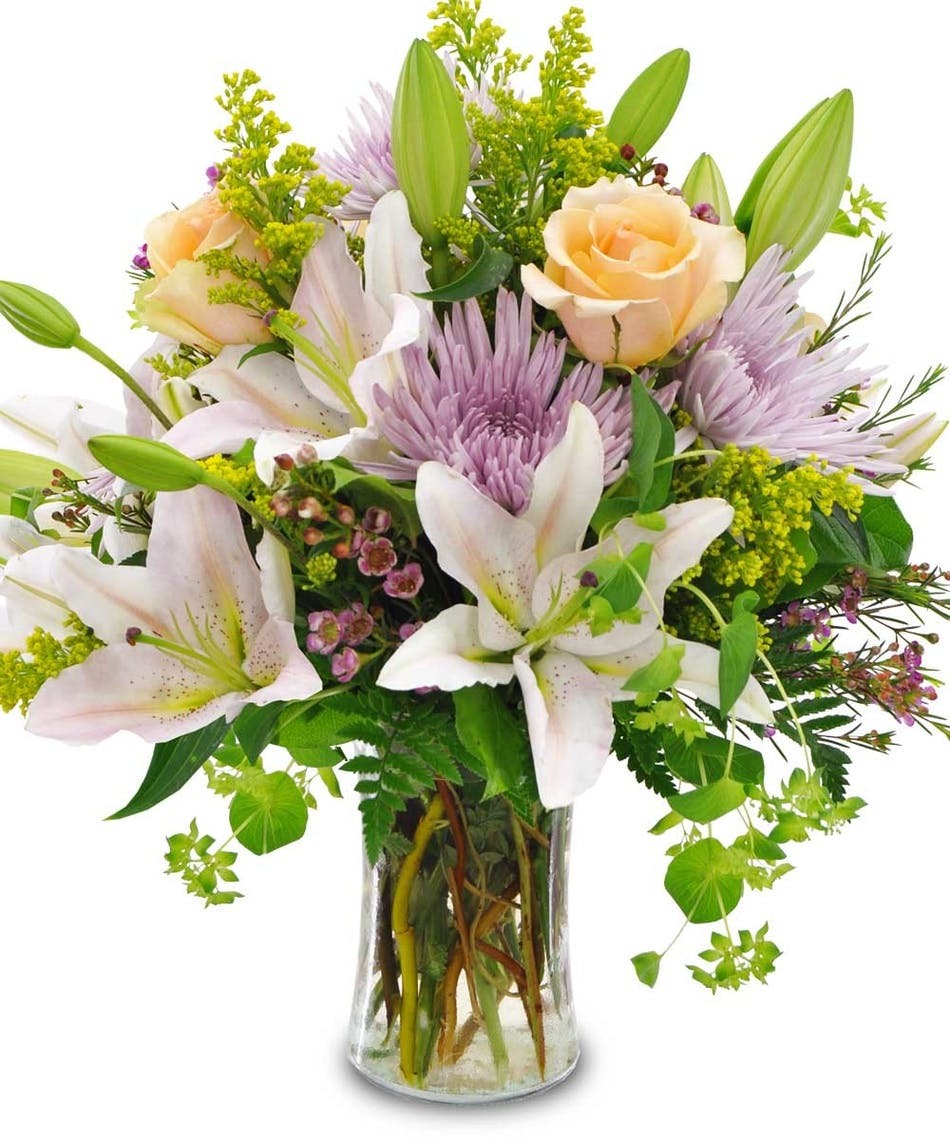 Delicate Shades Available Same Day Flower Delivery To Derby