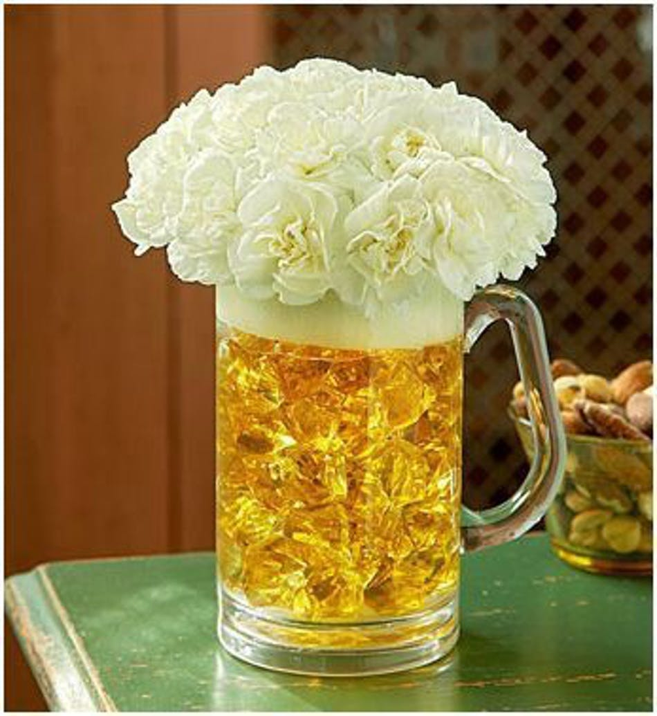Beer Mug Bouquet - Available Same Day Flower Delivery to Derby ...