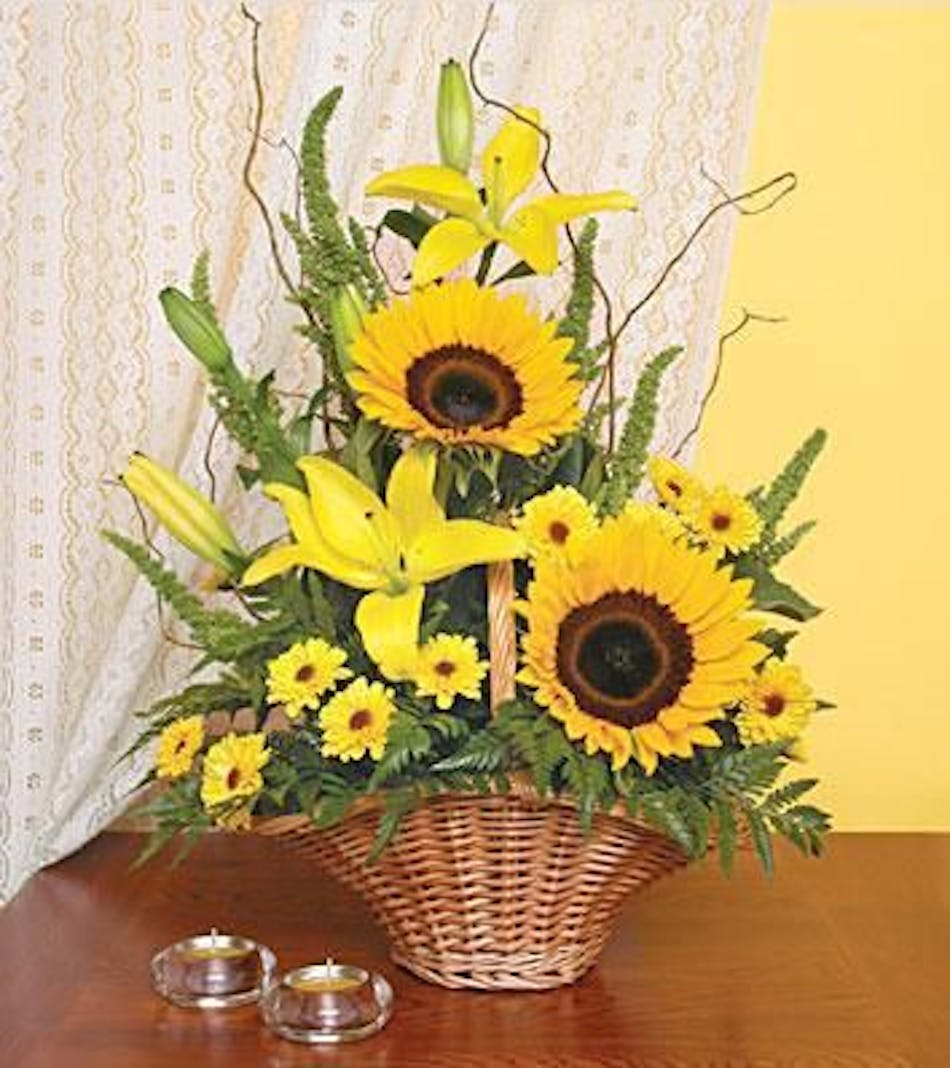Sunflower simplicity flower delivery online at city line