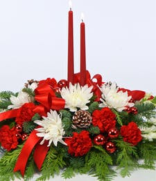 A  Merry Christmas Centerpiece