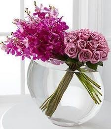 Orchid & Rose Duet