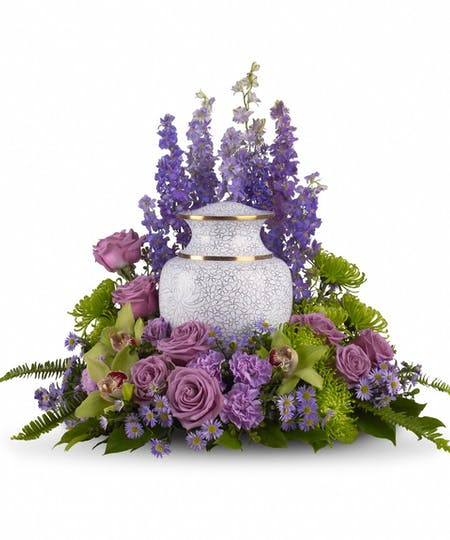 Cremation Urn Table
